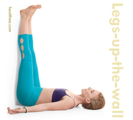 Legs up the wall pose insomnia sleeping disorder