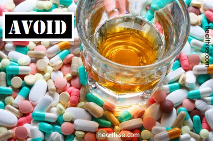 avoid alcohol rx drugs combination