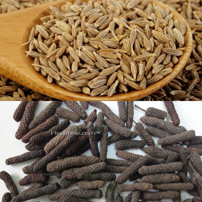 how cumin long pepper for sneeze cold treatment