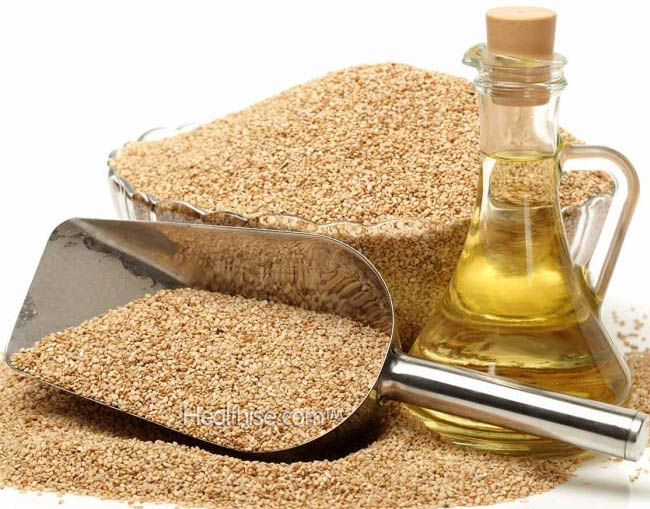 how sesame oil used sneeze cold treatment