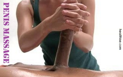 penis massage helps