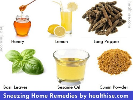 sneeze home remedies from healthise