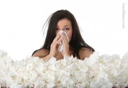 sneezing allergies running nose mucus and home remedy