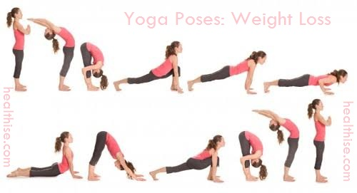 weight loss yoga postures