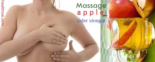 Apple juice vinegar mastitis breast infection