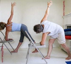 Chair Yoga For Seniors juniors joint pain patients