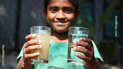 Clean water vital to human health