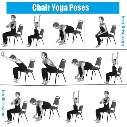 seated yoga sequence for seniors  blog dandk