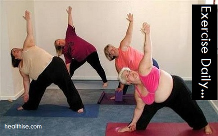 exercise yoga control obesity weightloss