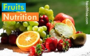fruits health nutrition facts benefits