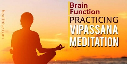 improve brain vipassana meditation