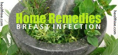 mastitis breast infection home remedies