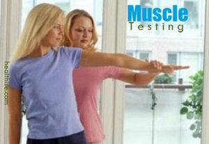 muscle testing for allergies