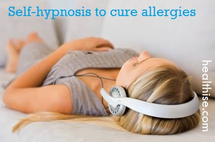 self hypnosis to cure allergies