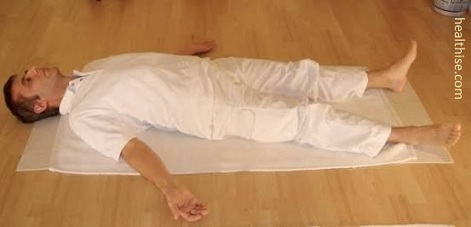 the mind will quiet down shavasana corpse pose