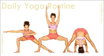 yoga routine for daily workout