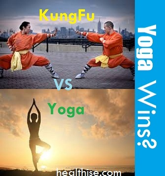 yoga vs kungfu