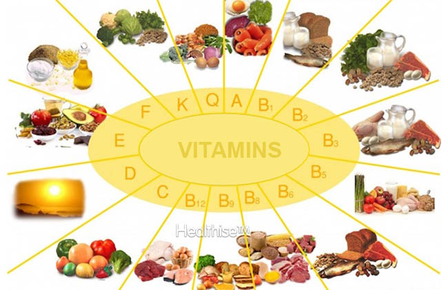 what are important vitamins healthise