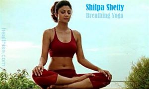 shilpa shetty breathing yoga