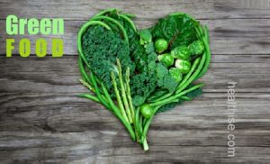 green health food body mind and strength