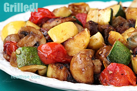 grilled vegetables cancer proof