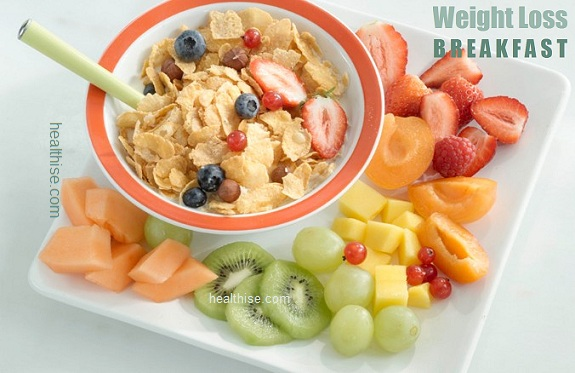 healthy breakfast weight loss