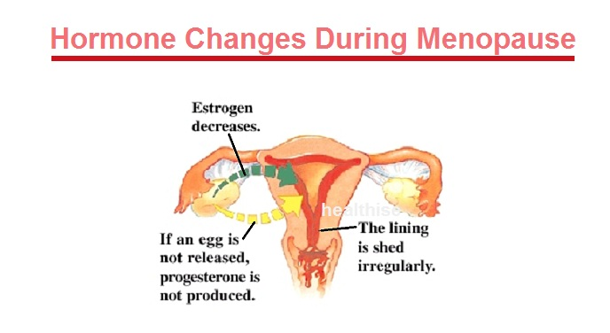 healthy hormonal changes menopause