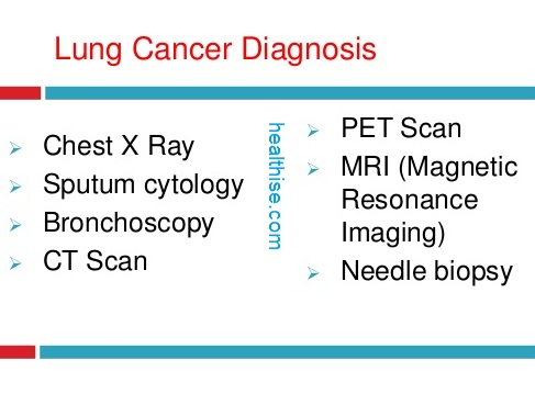 lung cancer treatment testing