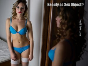 woman as sex object or beauty