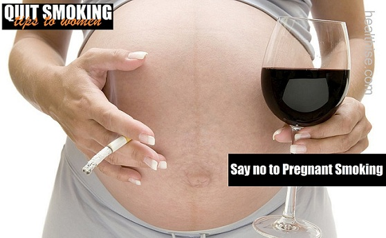 women smoking harmful effects