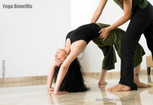 yoga benefits man woman child