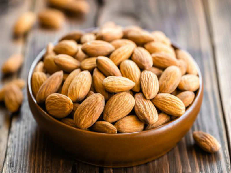 how almonds help in groin skin whitening