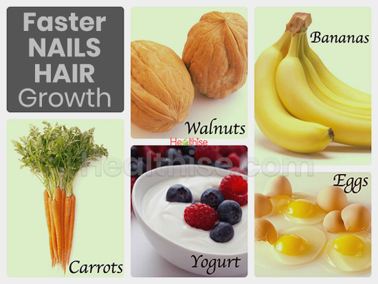 diet nails hair growth faster stronger remedies