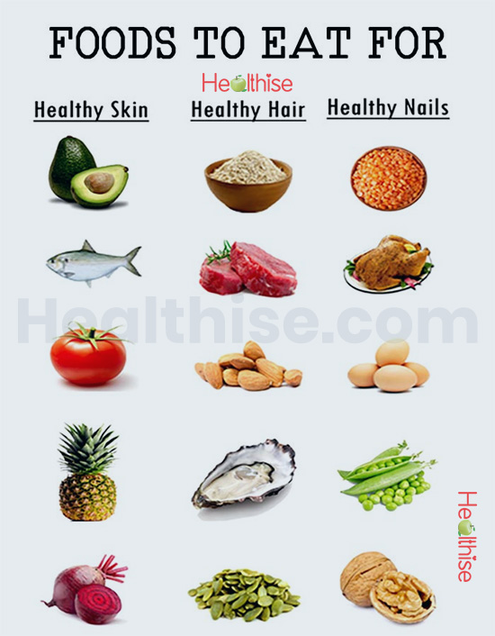 Nails growth treatment: foods stronger nails hair skin remedies