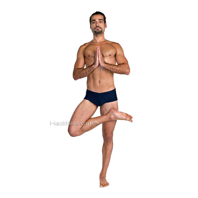 how Tadasana tree pose yoga help men