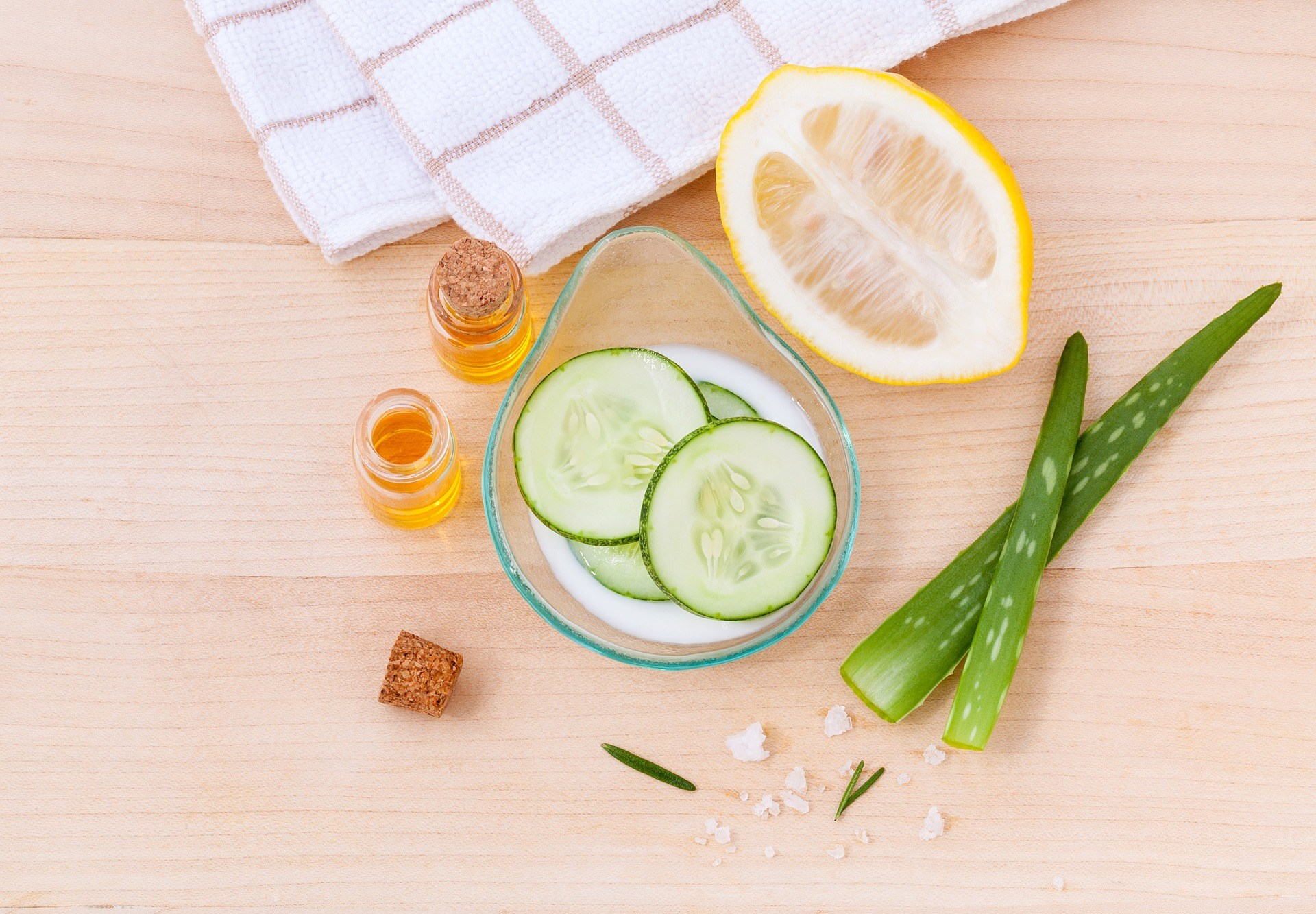 home kitchen items for skin care beauty