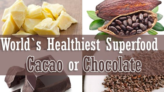 Your Healthiest Superfood Cacao or Chocolate
