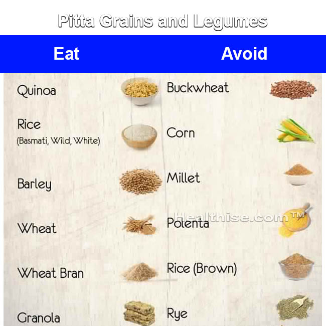 pitta grains legumes