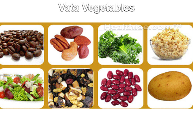 vata vegetables